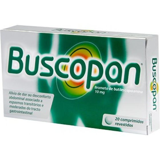 BUSCOPAN COMP REV 10 MG X 20
